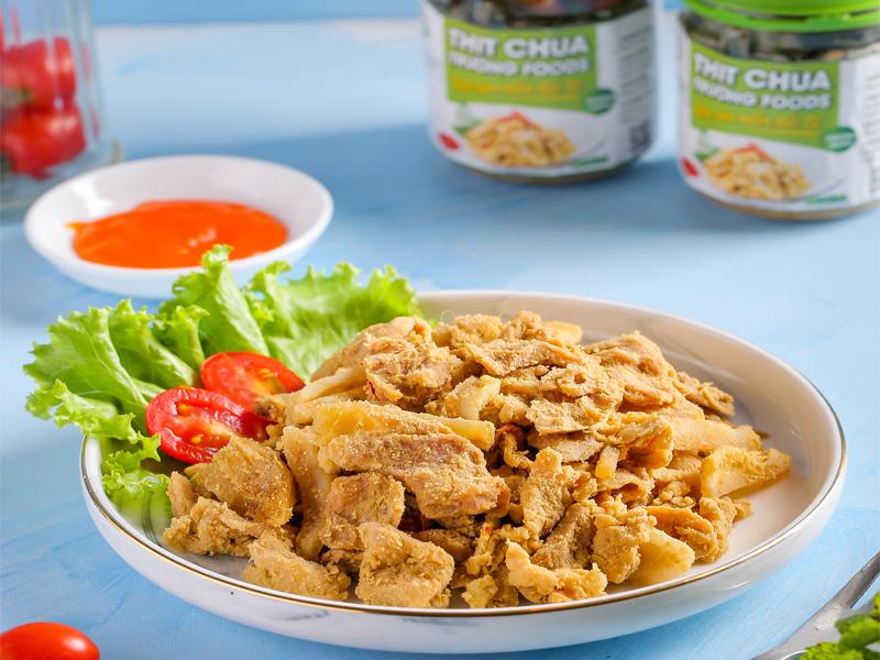 Thịt chua Thanh Sơn nức tiếng Phú Thọ và bí kíp tạo nên món ngon quyến rũ này