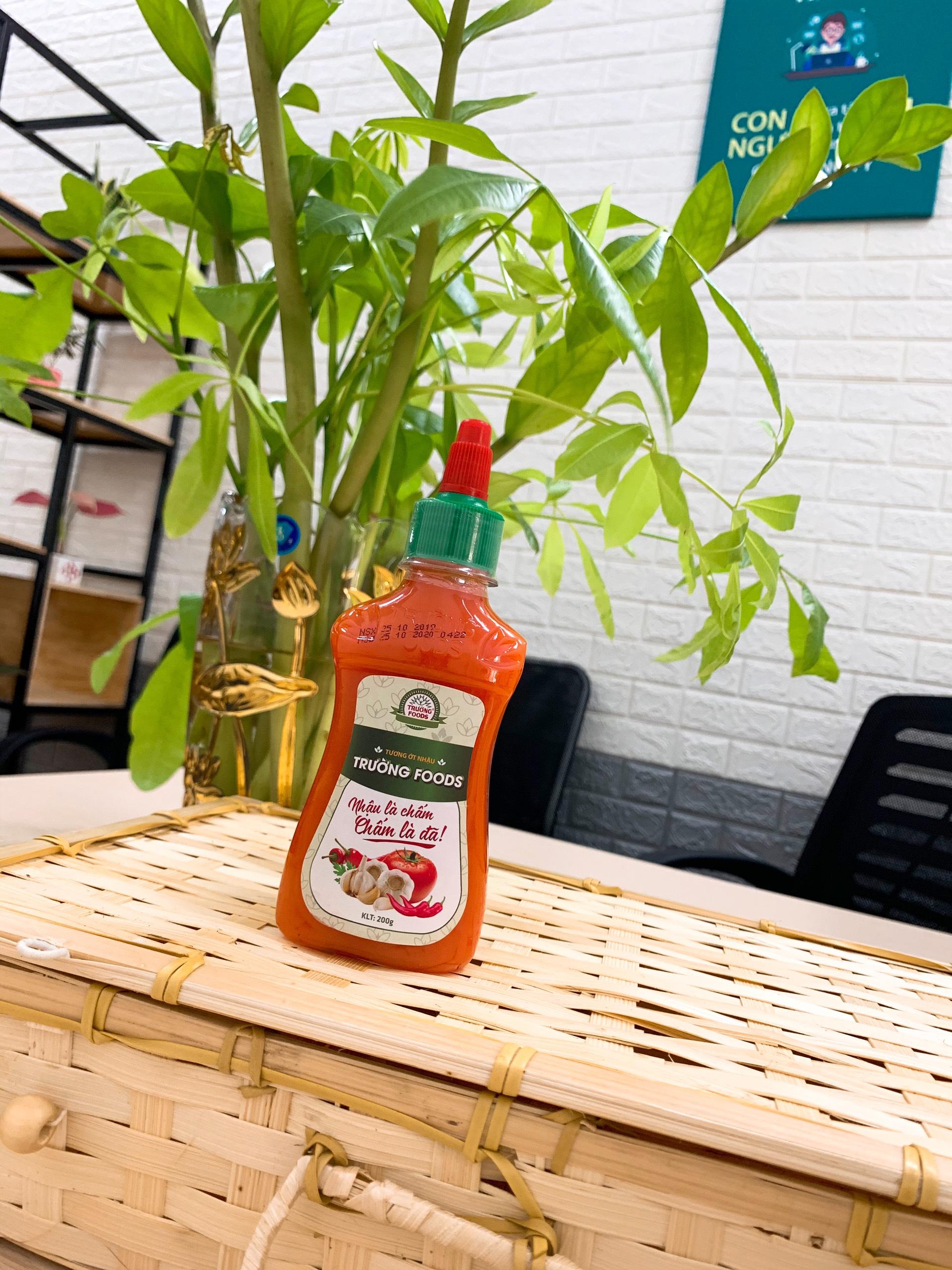 Thịt chua Trường Foods cho ra mắt sản phẩm Tương Ớt Sạch