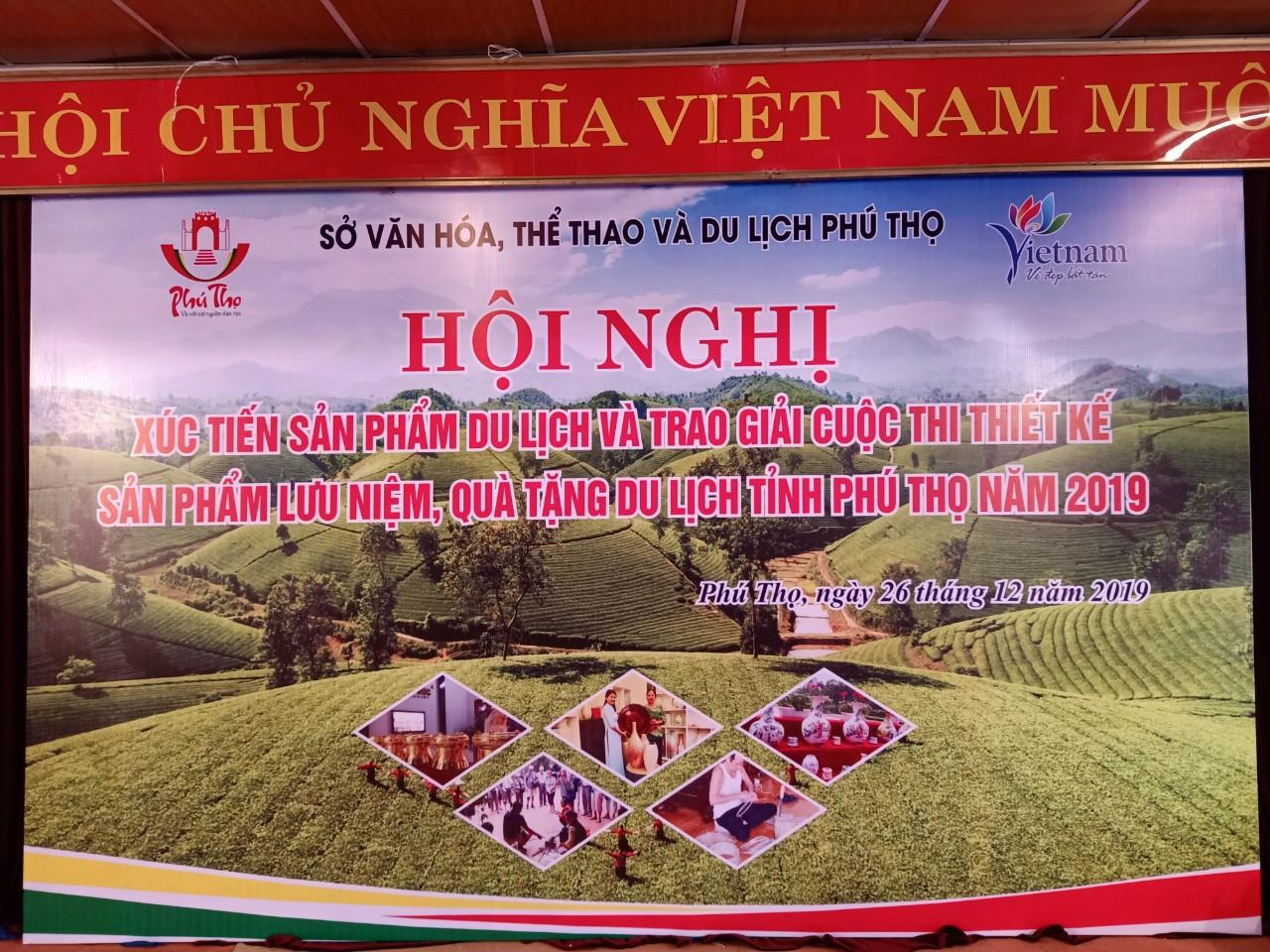 Hội nghị xúc tiến sản phẩm du lịch Phú Thọ