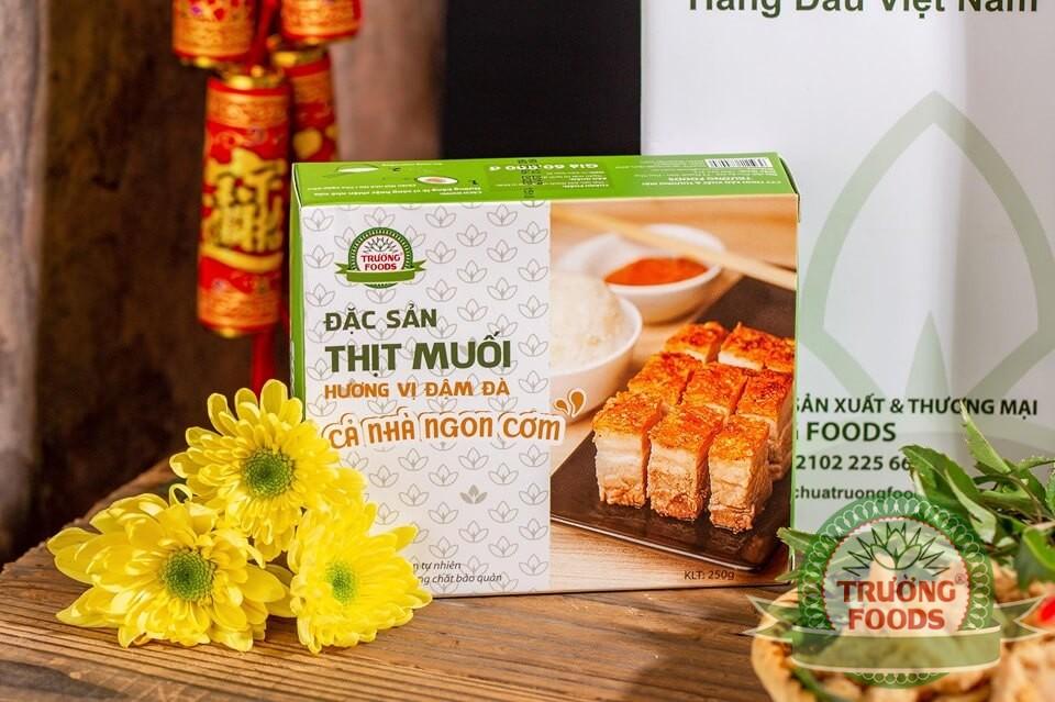 Đặc sản thịt muối Thanh Sơn – Món ngon cho mùa đông thêm ấm áp