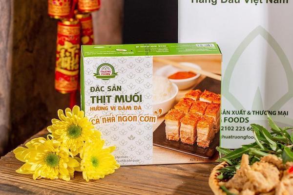 Thịt lợn muối chua Hà Nội do Trường Foods chế biến