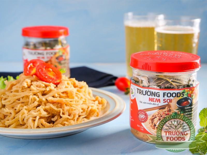 Nem sợi Thanh Sơn là một trong những món có thể chế biến đa dạng