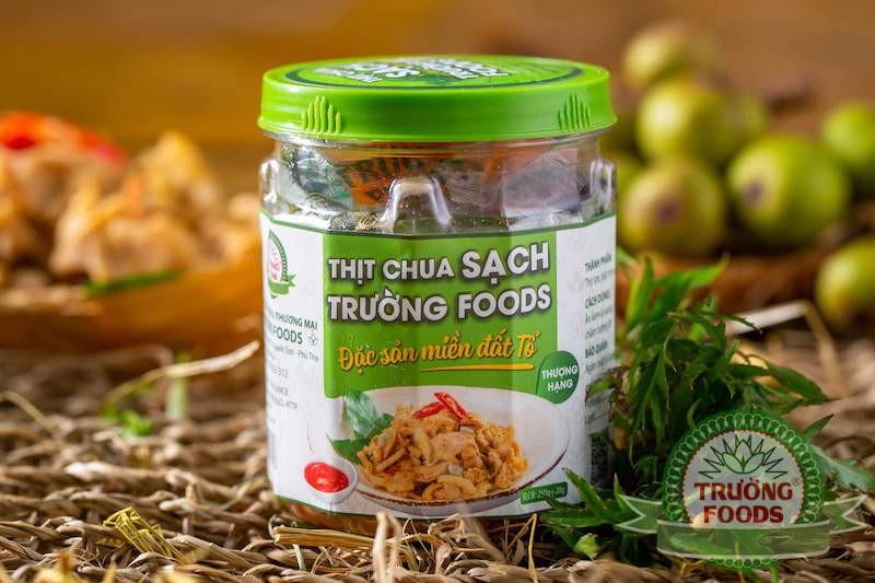 Thịt chua ngon tại Ninh Bình tại sao nên lựa chọn thương hiệu Trường Foods?