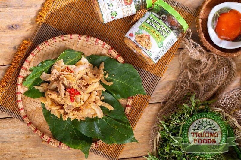 Thịt muối chua đặc sản người Mường vùng đất Thanh Sơn Phú Thọ