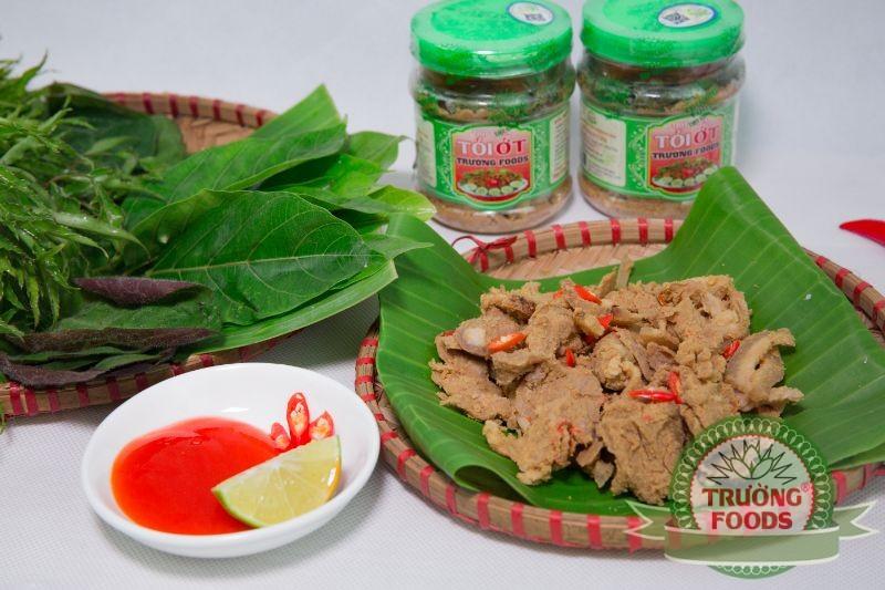 Đừng quên món ăn đặc sản thịt chua Thanh Sơn khi bạn ghé qua Phú Thọ