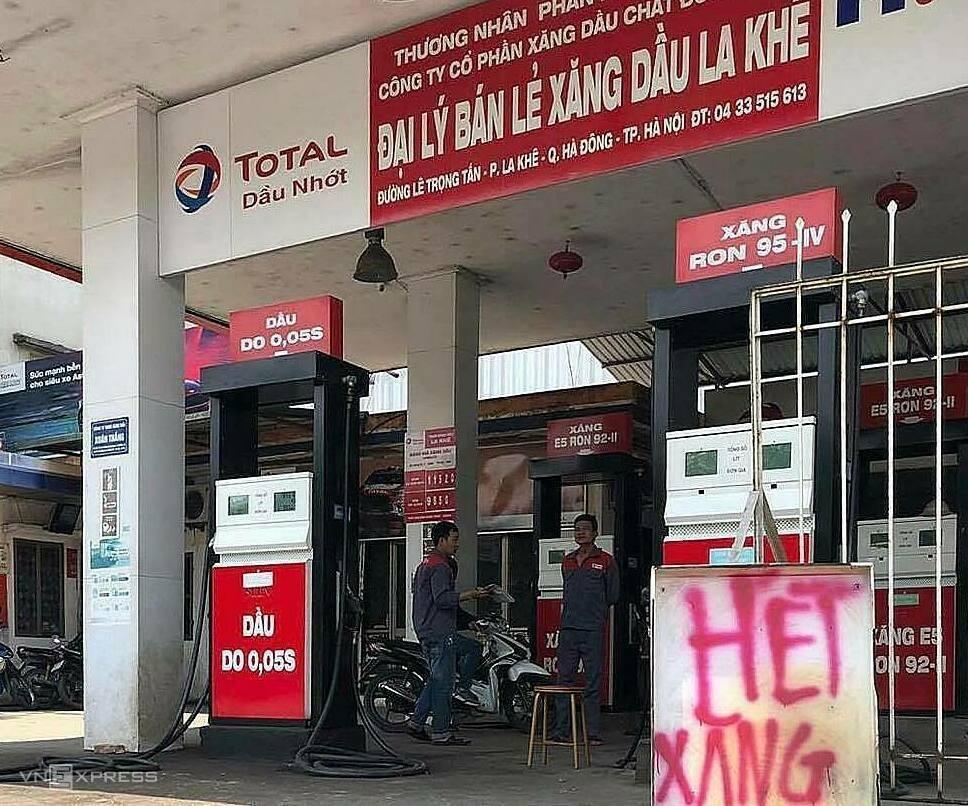 giá xăng dầu