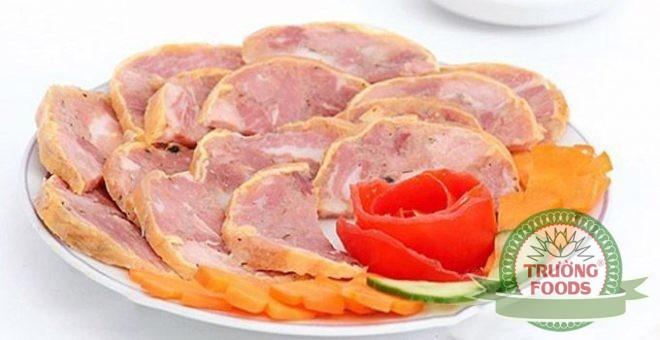 công thức nấu thịt lợn nguội