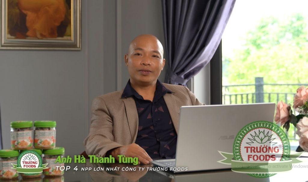 Anh Hà Thanh Tùng - Nhà Phân Phối Thịt Chua Trường Foods