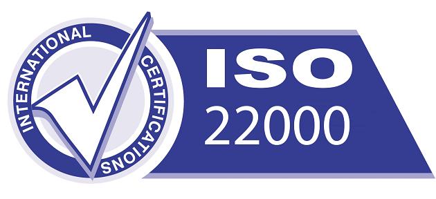 Thịt chua Trường Foods được Bộ Y Tế cấp chứng nhận đạt tiêu chuẩn vệ sinh an toàn thực phẩm theo tiêu chuẩn ISO 22000